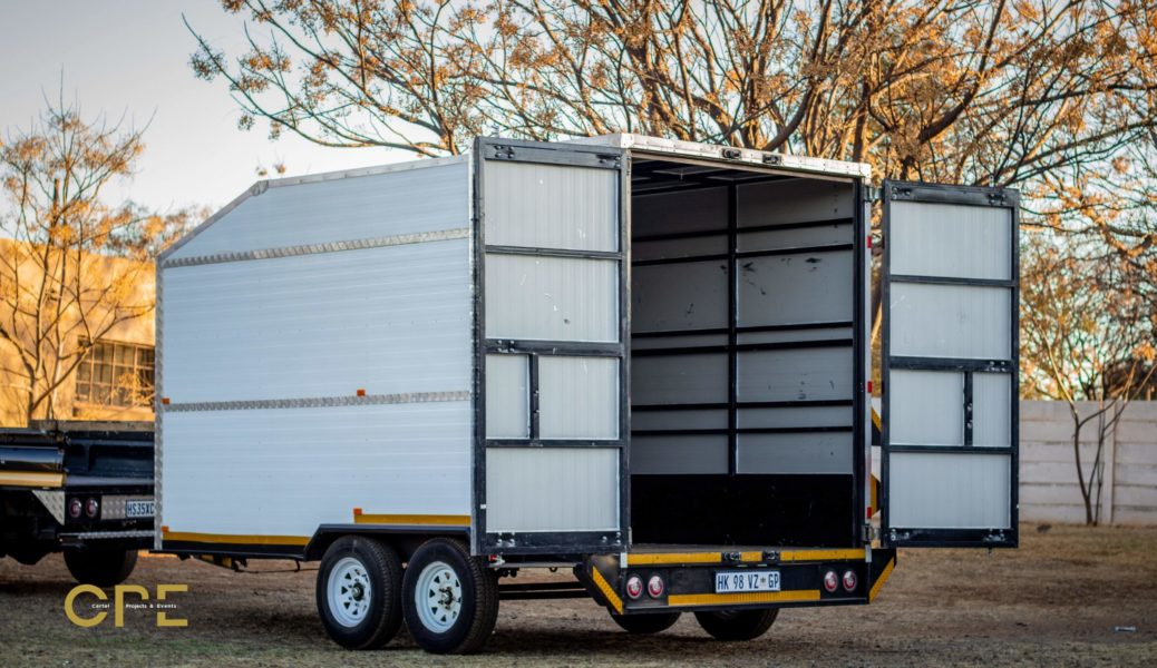 Closed Goods Trailers